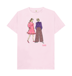 Vintage Style Fashion Sketch Tee