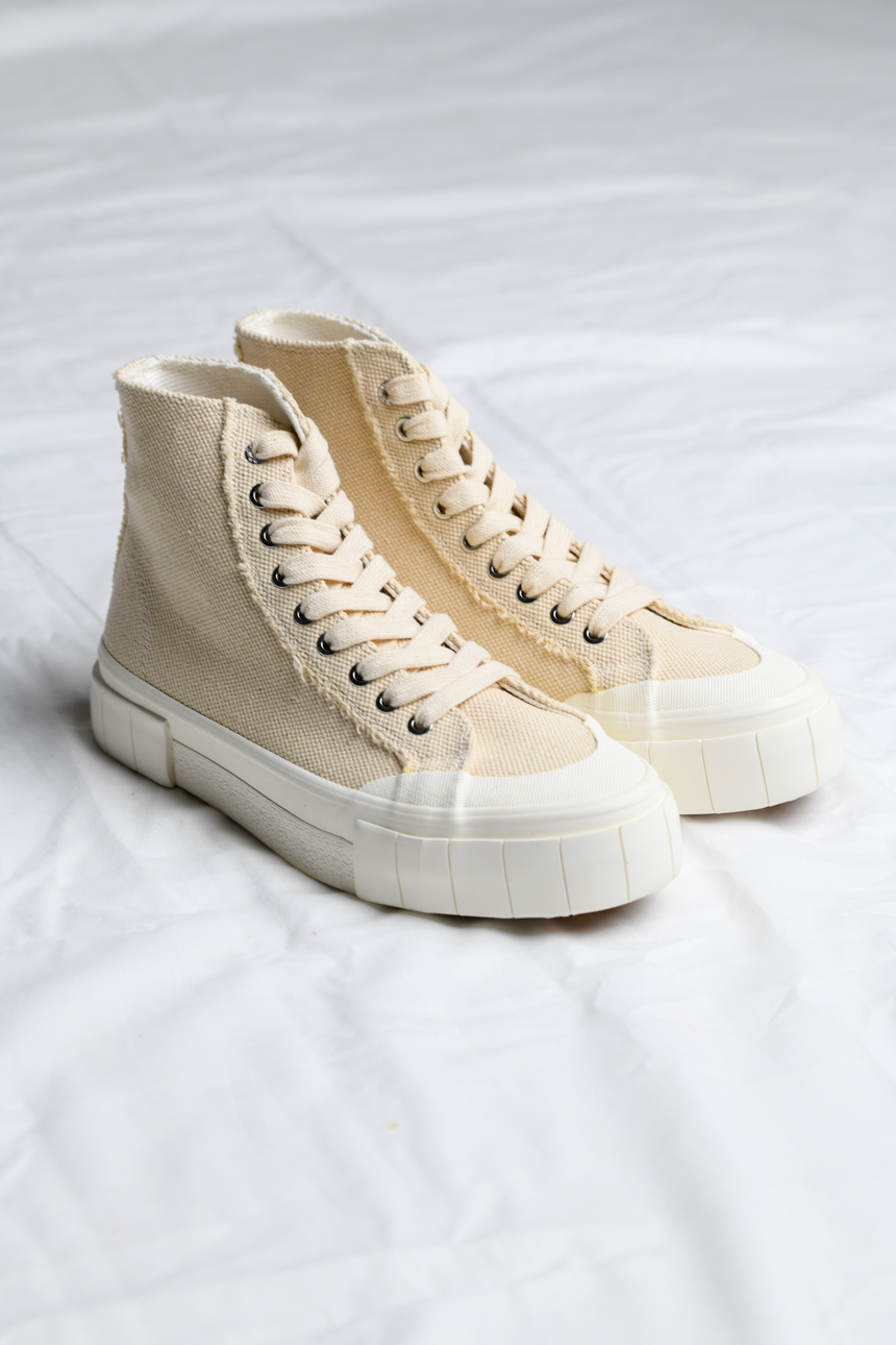 Palm Hi-top Sneaker in Oatmeal