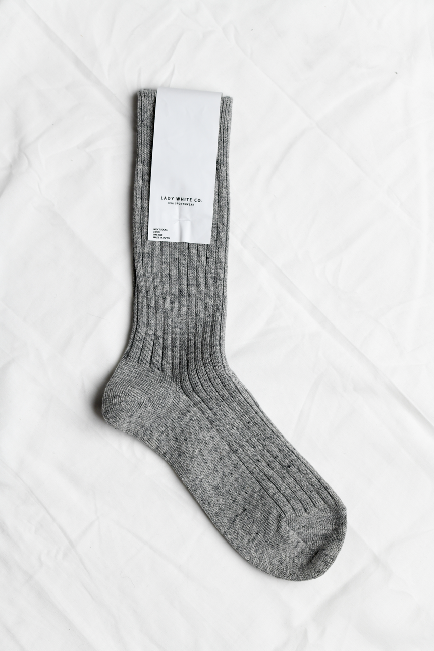 LWC Socks in Gray
