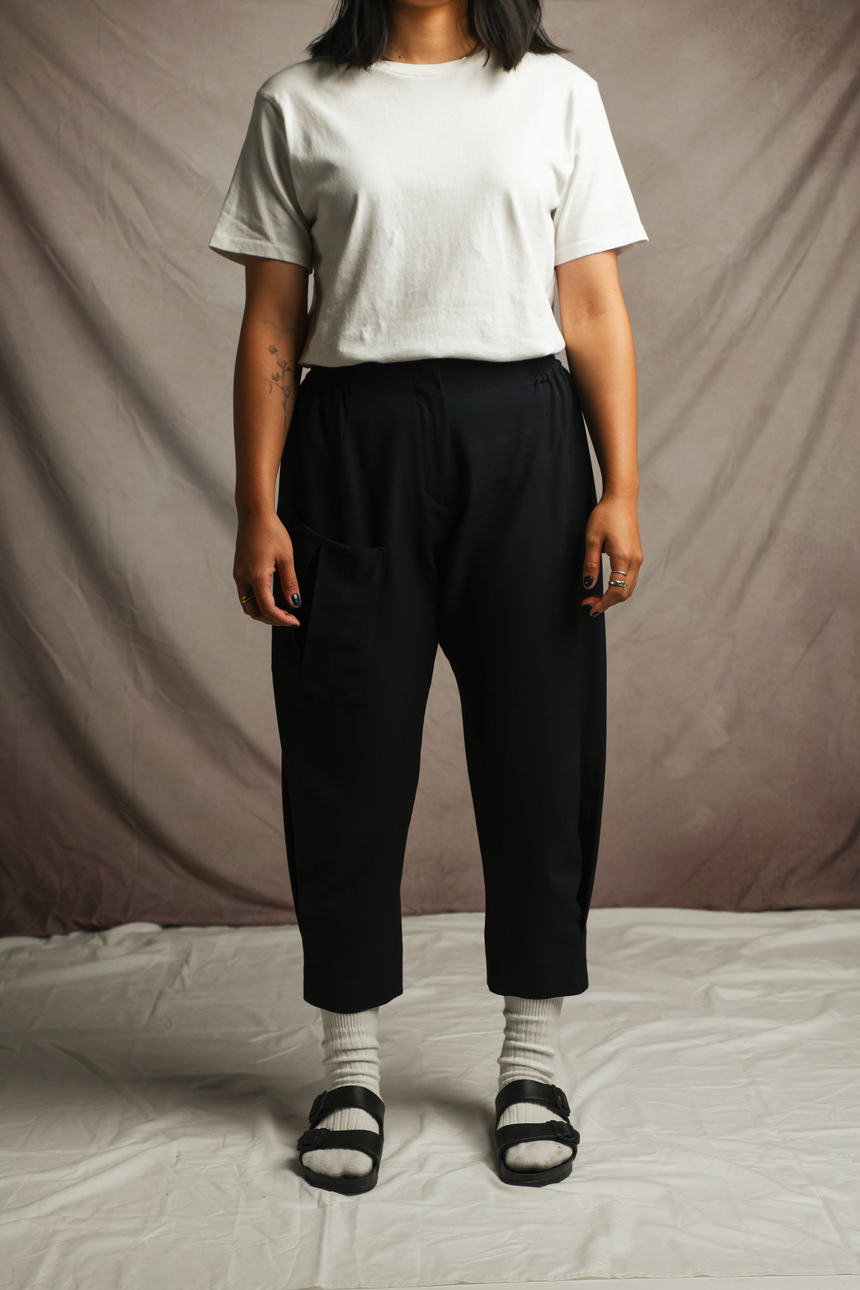 Rokko Sport Pant in Navy