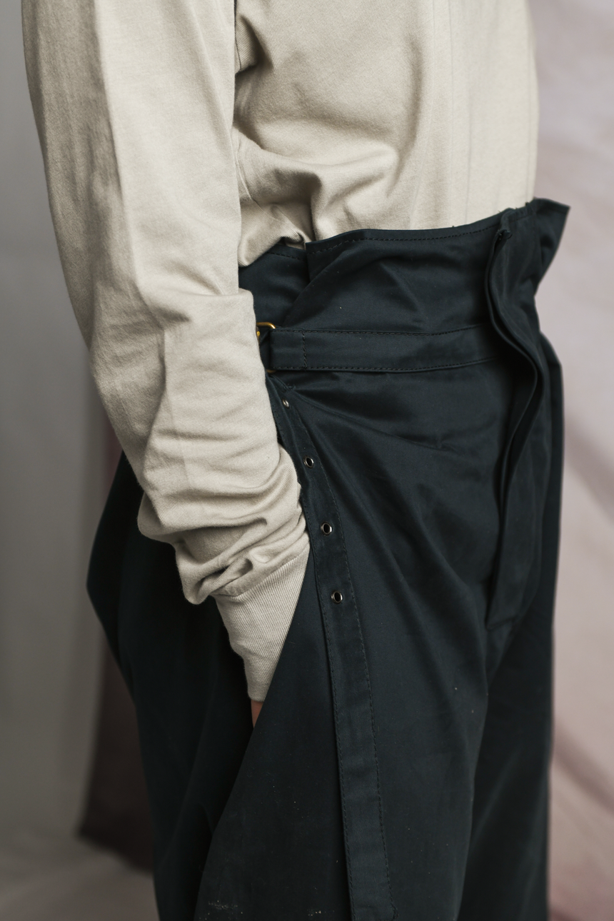 The Cotton Pant in Black