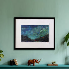 "Load image into Gallery viewer, Framed Print ""Breathe"" (16x20"")"