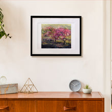 "Load image into Gallery viewer, Framed Print ""History of Crabapple"" (16x20"")"