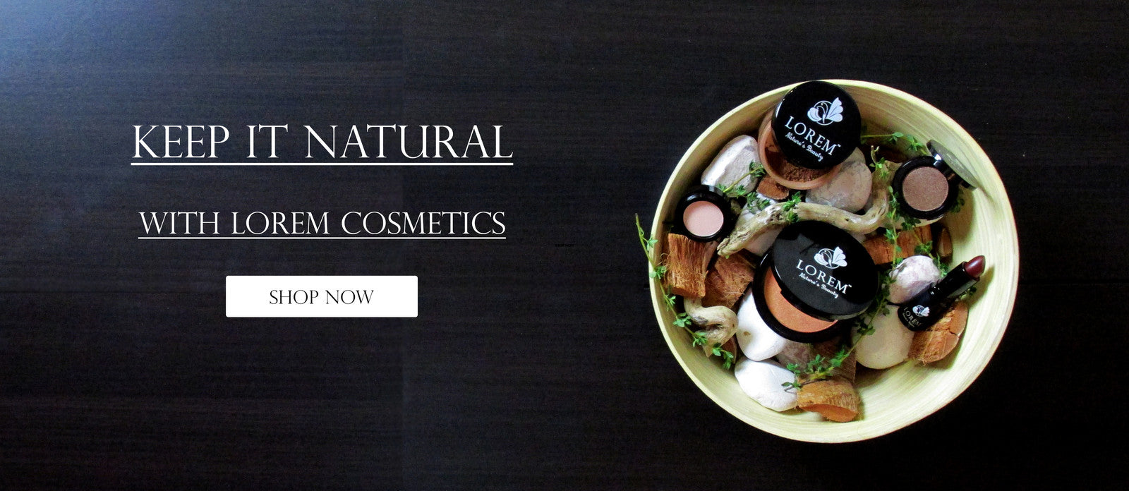 All Natural Makeup and Organic Skin Care