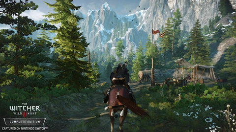 Nintendo Switch Graphics The Witcher 3: Wild Hunt
