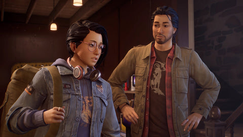 Alex and Gabe Life is Strange True Colours