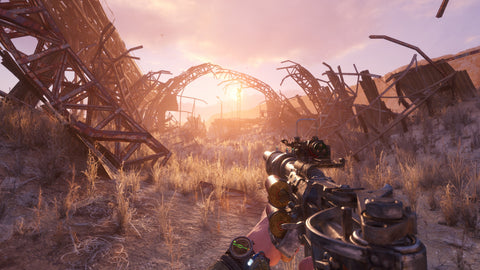First Person Shooter Metro Exodus Game Play
