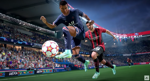 FIFA 22 MBAPPE HYPERMOTION ATTACKING INTELLIGENCE
