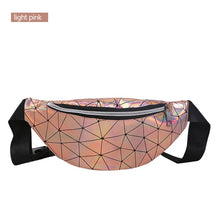 Load image into Gallery viewer, Hello Holo Holographic Fanny Pack