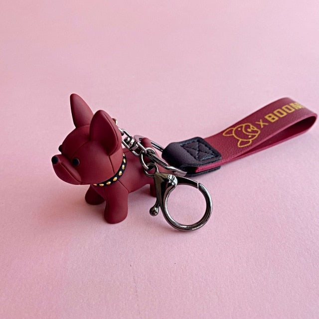 Fighting Dog Keychain