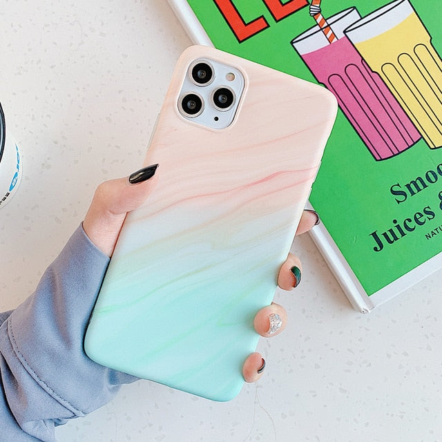Faux Marble Phone Case