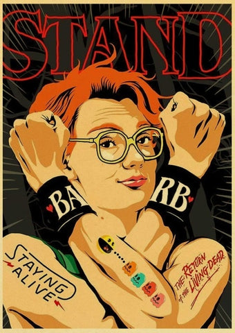 Poster Stranger Things Barbara