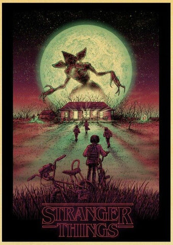 Poster Stranger Things Demogorgon