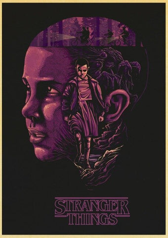 Poster Stranger Things Violet