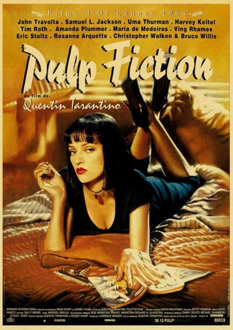 Poster Pulp Fiction Sexi Mia Wallace