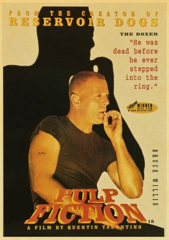 Poster Pulp Fiction Butch Coolidge