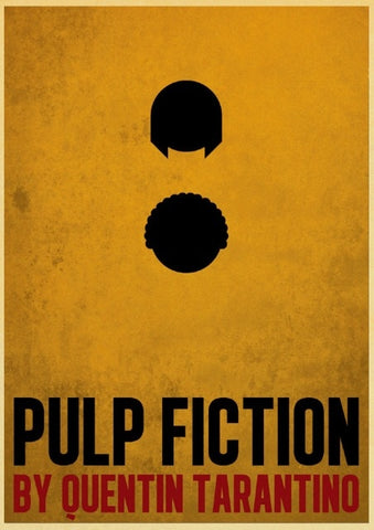 Poster Pulp Fiction By Quentin Tarantino