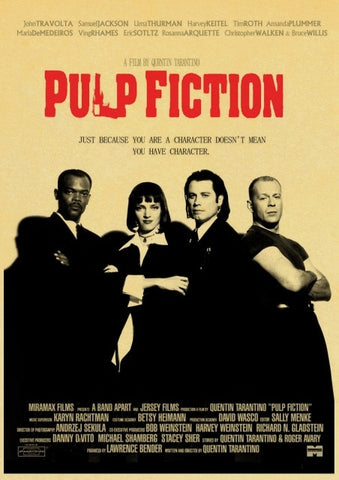 Poster Pulp Fiction Affiche Anglaise