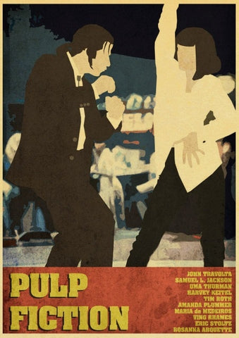 Poster Pulp Fiction Affiche