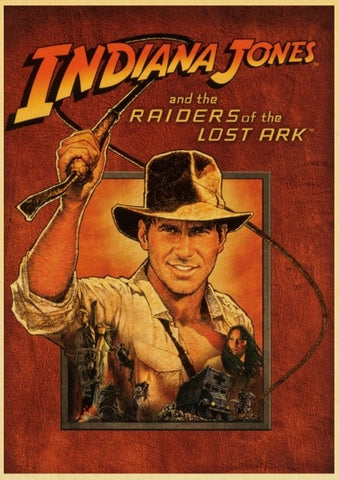 Poster Indiana Jones et son lasso - 30cmX42cm