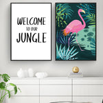 Poster Welcome to our Jungle