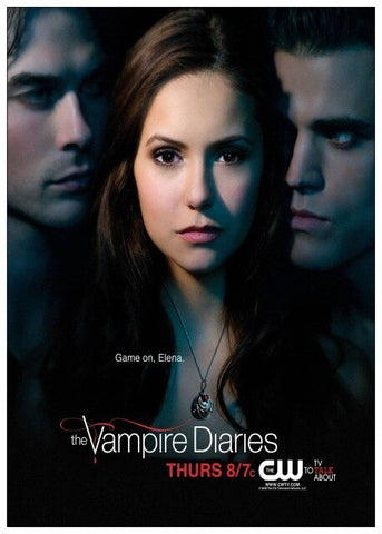 Poster Vampire Diaries Game On Elena