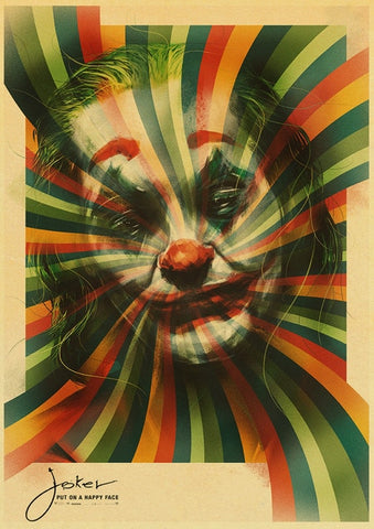 Poster Joker Hypnotique - 30cmX42cm