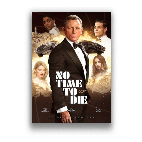 Poster James Bond No Time To Die - 50x70cm