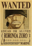 Poster One Piece Roronoa Zoro Dead Or Alive 2