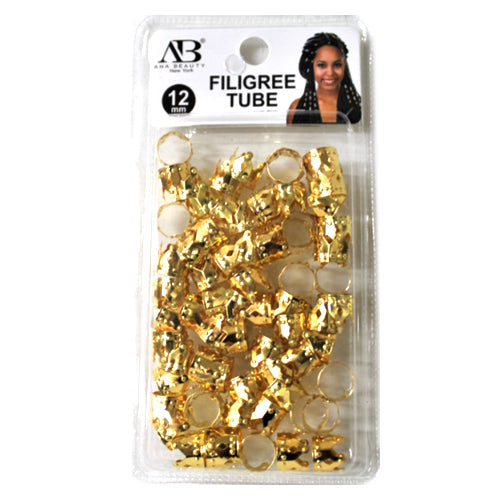AB GOLD FILIGREE TUBE