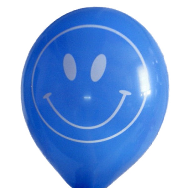 Smiley Face Helium Latex Balloons