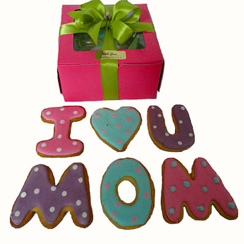 'I love you Mom' Biscuit Box