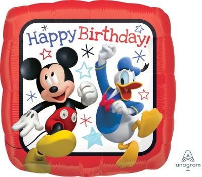 Disney licensed 'Mickey and Friends' Helium Foil Balloons