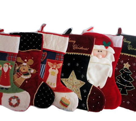 Christmas Stockings filled with Festive Treats