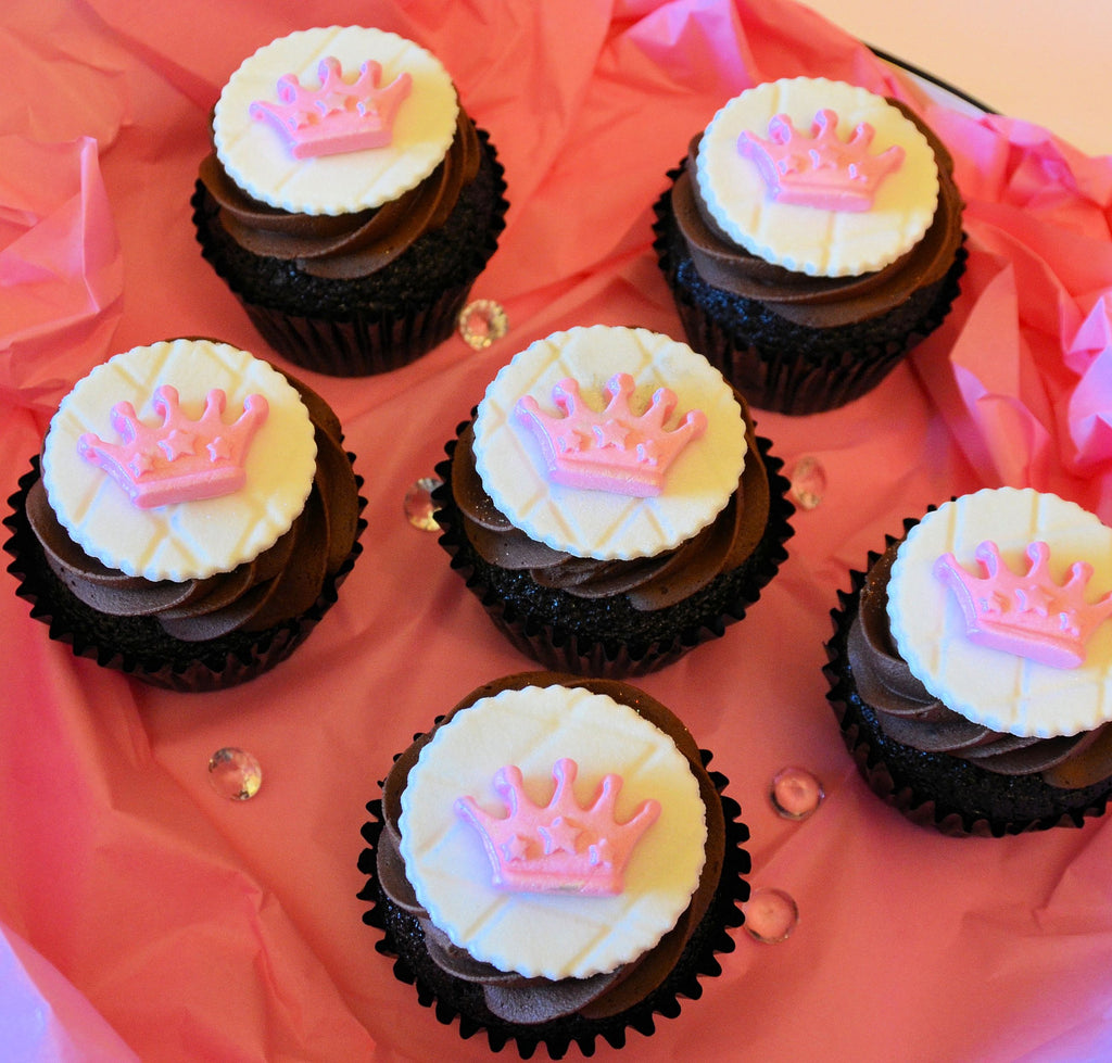 QUEEN/Princess Personalized/Themed Cupcakes