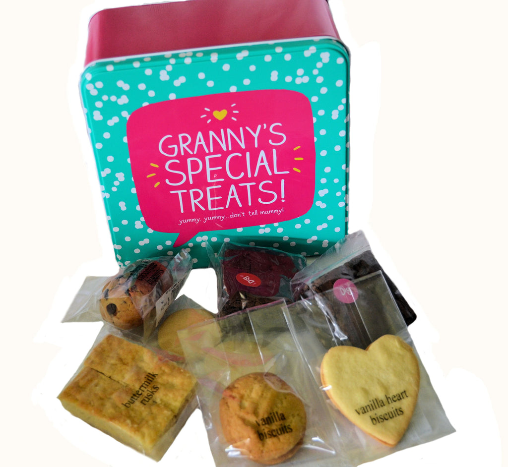 Granny's Special Treats! (Tin filled with biscuits)