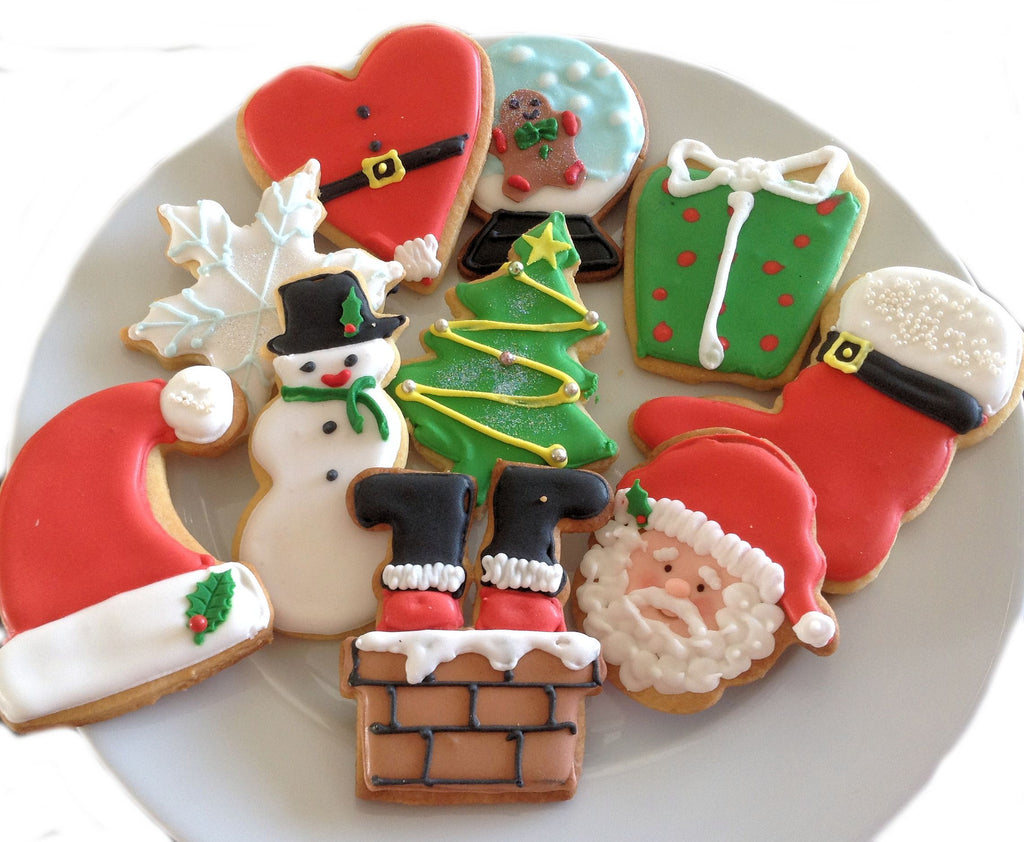 Gorgeous Handmade (flooded with icing) Christmas Biscuits ...