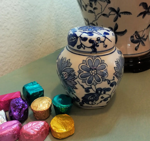 Ming Jar filled with Chocolates