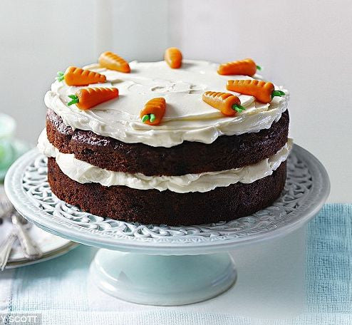 Traditional Home Made Carrot Cake