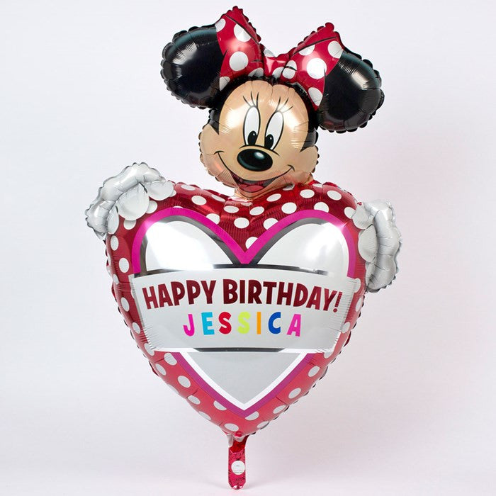 PersonalizeD SupeR SizeD MINNIE MOUSE Foil Balloon