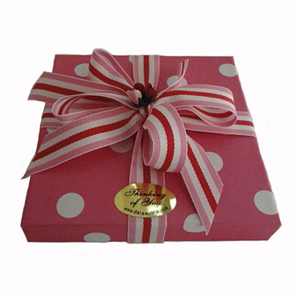 Gift Box of Handmade Belgian Chocolates