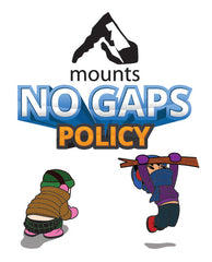 Mounts - No Gaps Policy. What to wear in winter. Baby, toddler, Child. Camping, backpacking, hiking, outdoors