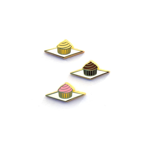 Tiny Cupcake - Hard Enamel Pin - Board Filler