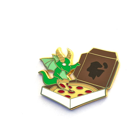 Pizza Dragon - Hard Enamel Pin