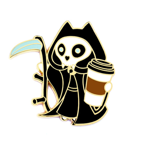 The Kitty Reaper - Hard Enamel Pin