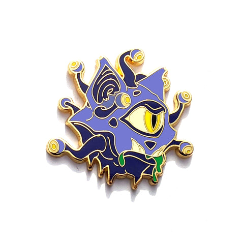 Eye-Cat - RPG Monster Cat - Hard Enamel Pin