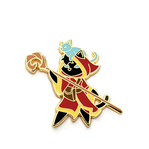 Spirit Shepherd Class - RPG Black Cat - Hard Enamel Pin