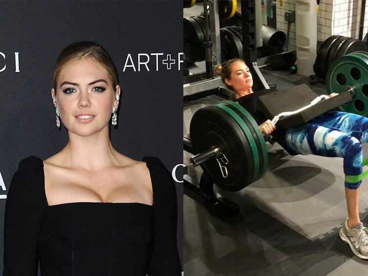 Kate Upton Basically Stays Fit By Lifting Really Heavy Things