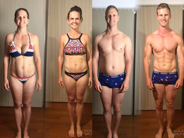 This Couple Gained 60 Pounds On Purpose—Then Lost It In 8 Weeks