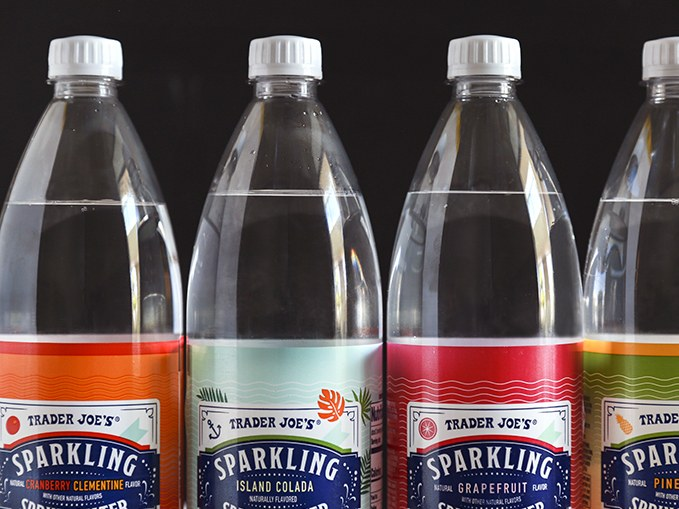 Trader Joe's Debuts Four New Seltzer Flavors